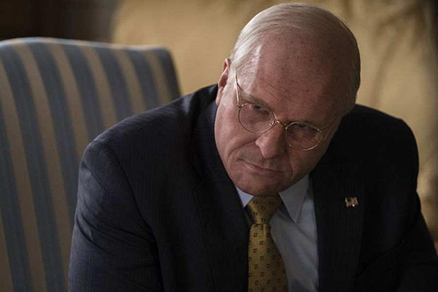A look at Hollywood star Christian Bale as Dick Cheney in the comedy-drama Vice