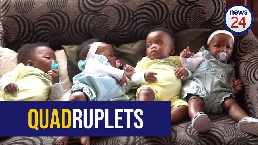 WATCH | #CuteOverload: Catching up with 'surprise' Cape Town quadruplets