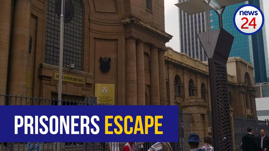 WATCH: JHB high court evacuated after prisoners escape