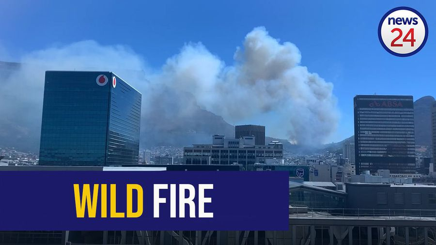 WATCH: Mountain blaze breaks out in Camps Bay
