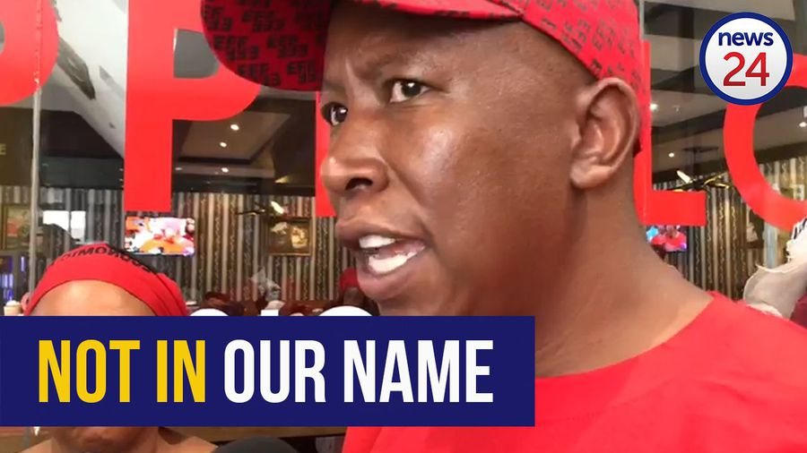 WATCH: Malema condemns rape threats after EFF posts Karima Brown's number