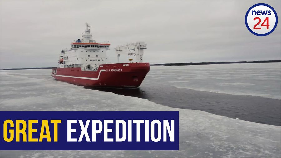 WATCH: SA Agulhas II returns from 'unprecedented' polar expedition