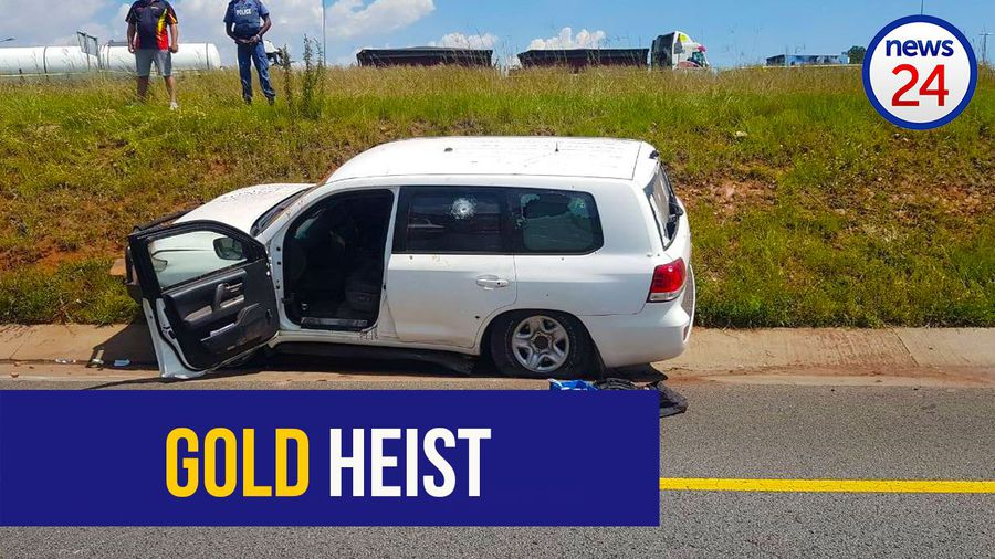 'I need help' - video shows moments after R21 gold heist attempt