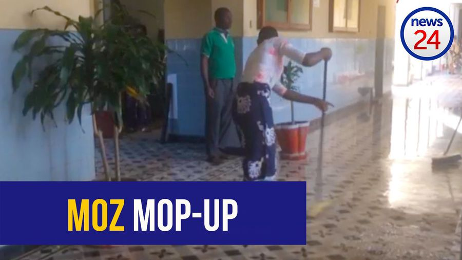 WATCH: Mop-up operations underway in cyclone-hit Mozambique