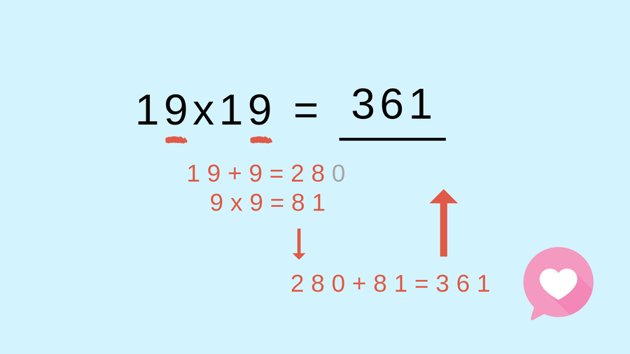 A genius hack to multiply teen numbers
