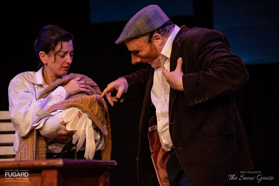 Taryn Bennett brings the pages of The Snow Goose to life on the stage floor