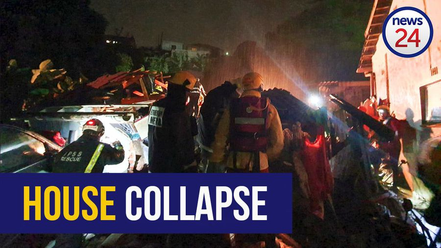 WATCH: Five die after heavy rains collapse houses in KZN