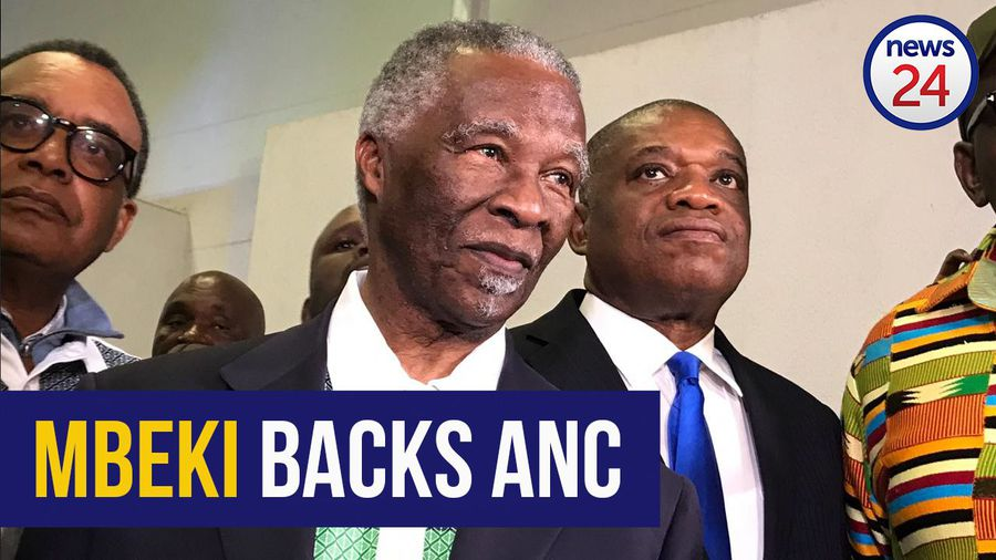 WATCH: Mbeki admits he could not honestly ask people to vote ANC