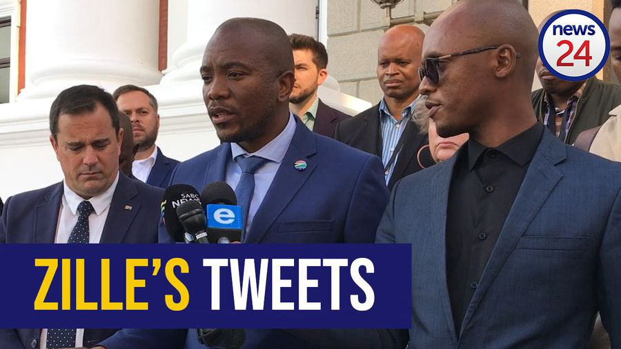 WATCH: It's going to stop - Maimane on Zille's Tweets