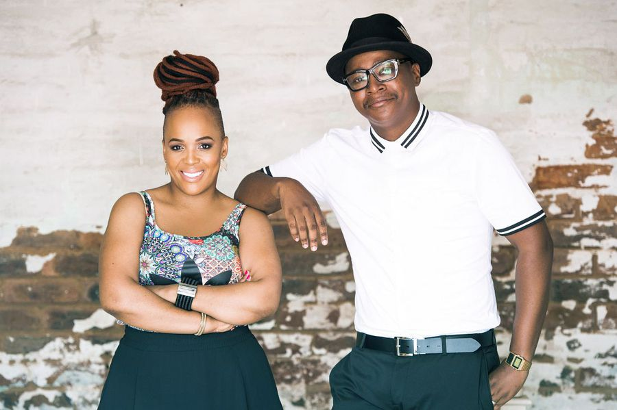 Ndumiso Lindi and Tumi Morake are back in it together. Not together-together, but together