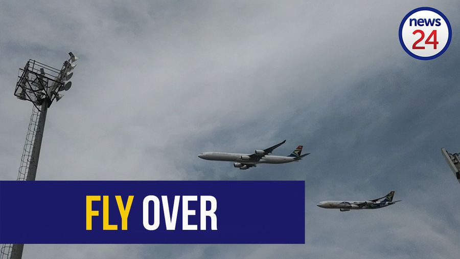 WATCH: Planes roar over Loftus during inauguration rehearsal