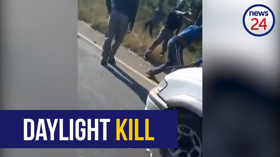 GRAPHIC CONTENT: SBV security official guns down protestor