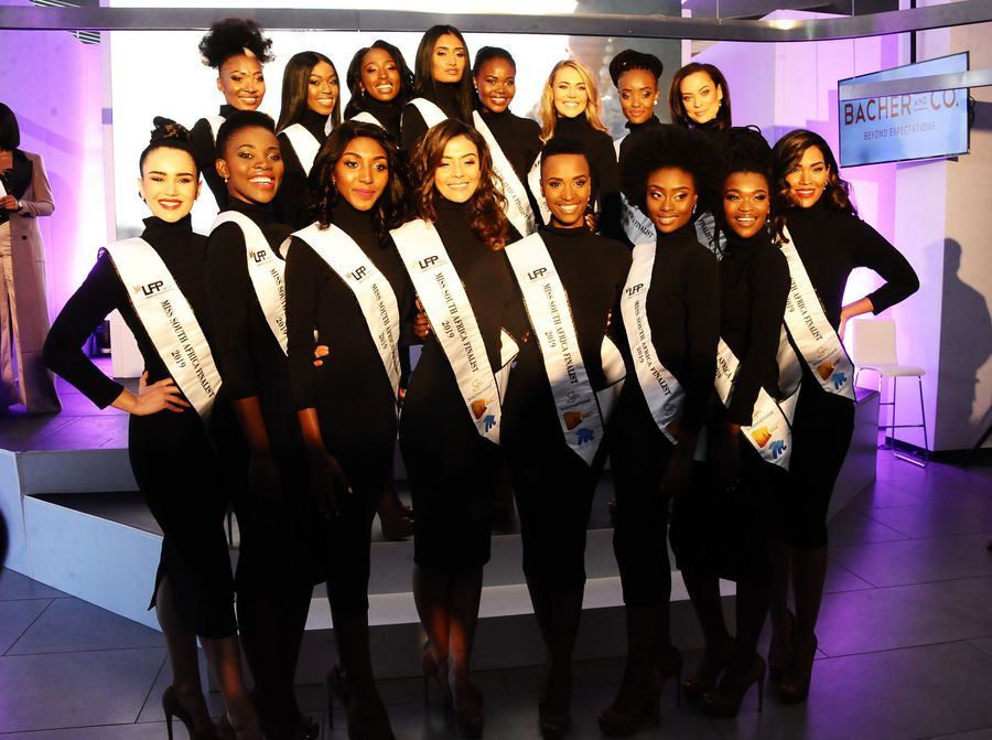 9 photos from the Miss South Africa top 16 reveal