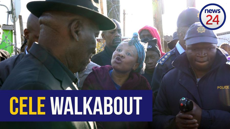 WATCH | Daylight robbery: Philippi East residents confront Cele about rampant crime