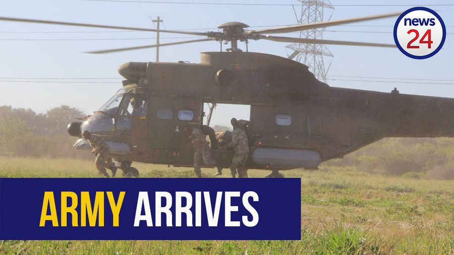 WATCH: More SANDF soldiers arrive in Cape Town