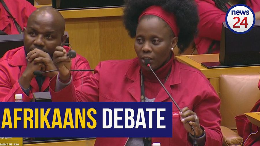 WATCH: 'I'm not respecting Afrikaans, it's my democratic right' - EFF MP to FF+