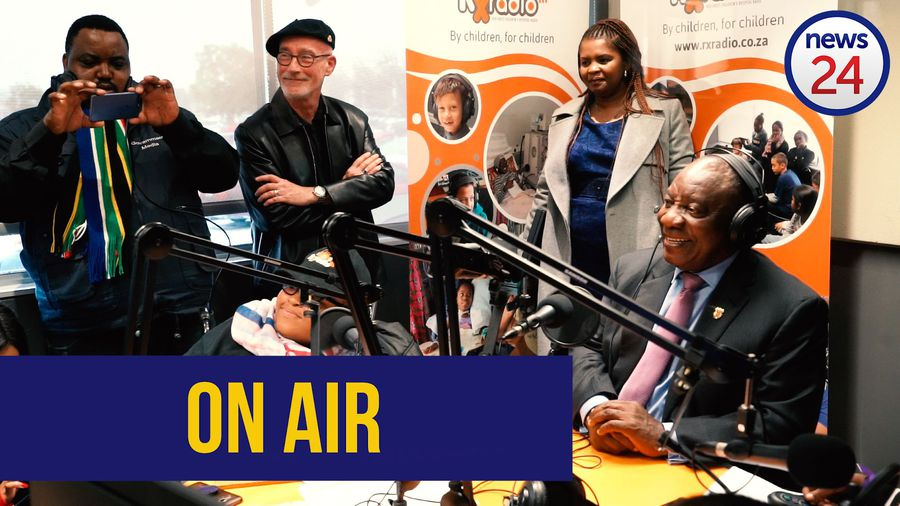 WATCH: Ramaphosa goes live with kid journalists on hospital radio show