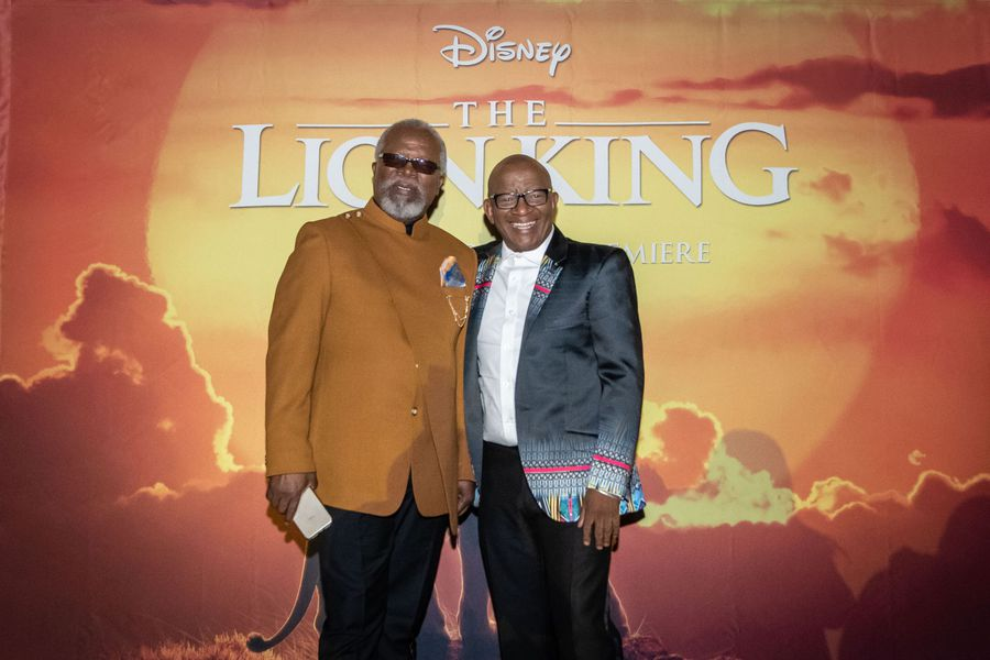 WATCH: Celebs walk the red carpet at The Lion King SA premiere