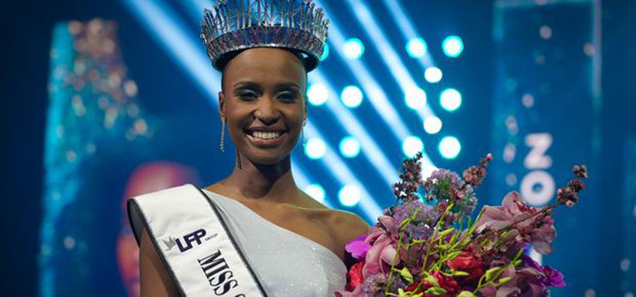 Miss SA Zozibini Tunzi talks plans for her reign