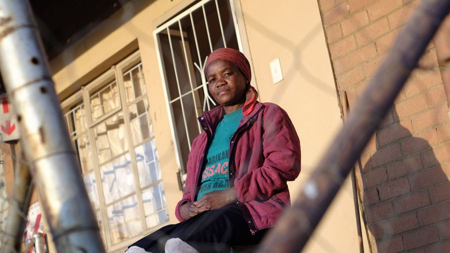 MARIKANA WIDOWS: Betty Gadlela
