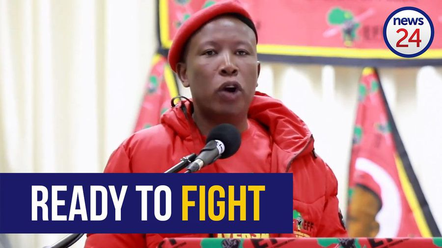"WATCH: Malema says he will ""take up arms"" against biased judges"