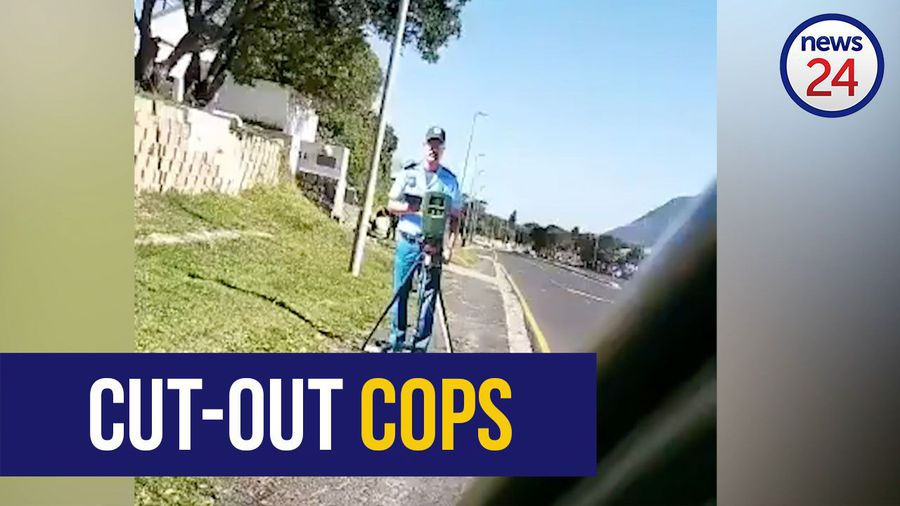 WATCH: Gotcha! Cape Town using cut-outs of traffic officers to cut down speeding