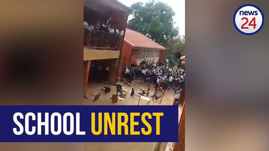 WATCH: Durban pupils 'incited' to throw desks, chairs, says KZN education MEC