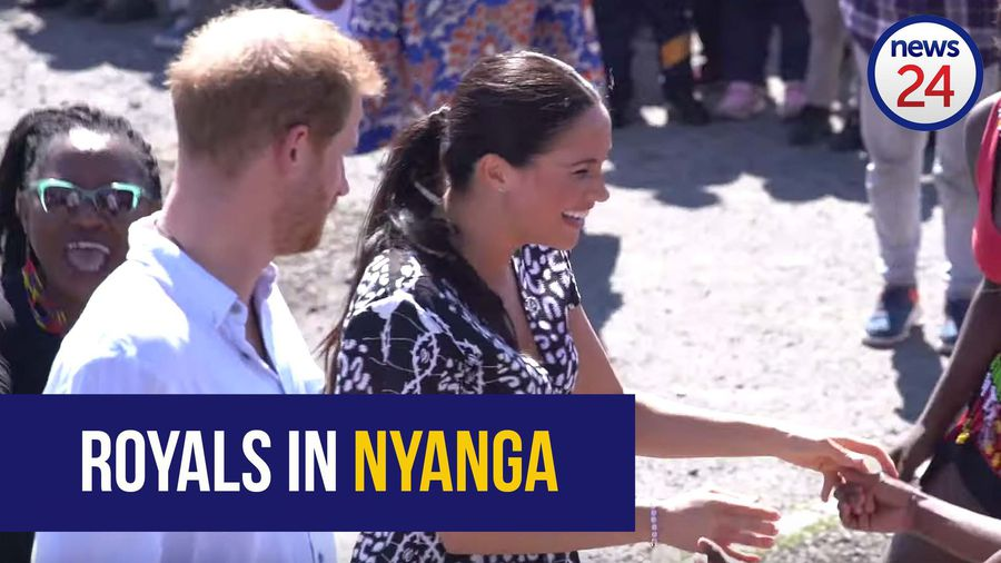 WATCH | 'Molweni!' - Harry and Meghan arrive to song and dance in Nyanga, Cape Town