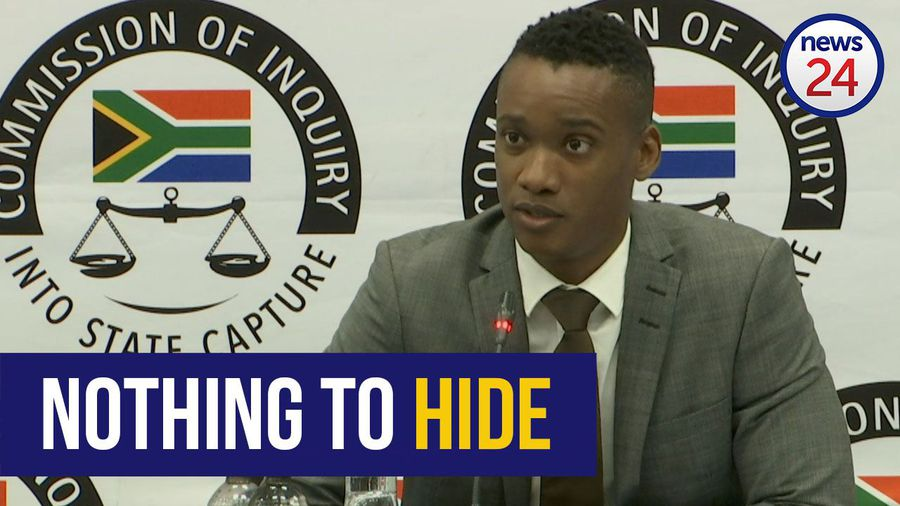 WATCH | 'I am not corrupt' says Duduzane Zuma at state capture commission