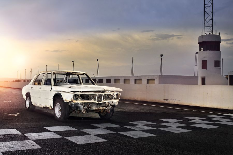 A track-inspired BMW 530 MLE restored to its former glory