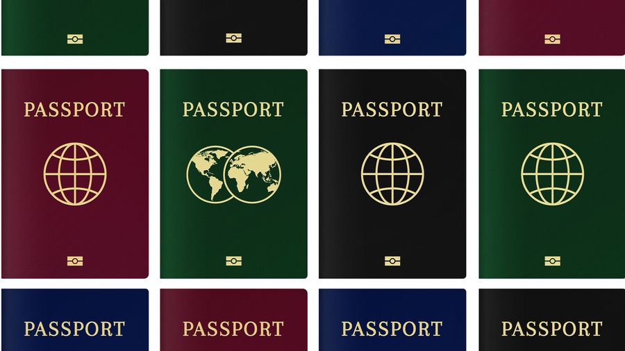 Why do passports only come in four colours?