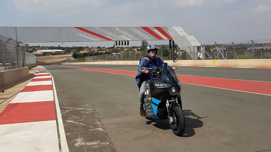 This guys went around the world in 80 days on an electric motorbike