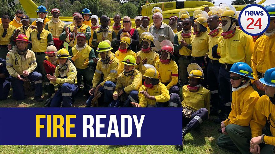 WATCH | Western Cape firefighters demonstrate state of readiness as fire season approaches