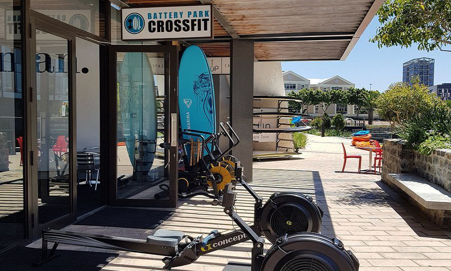 Outdoor CrossFit: The best way to spend your lunch hour in the heart of Cape Town