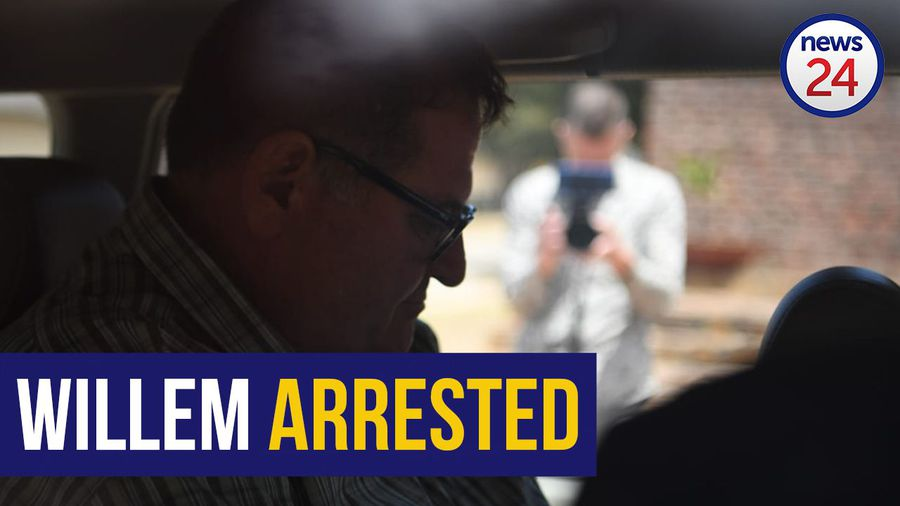 VIDEO   Watch the moment police arrested media exec Willem Breytenbach for sexual assault