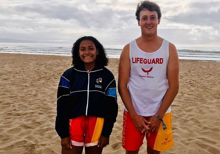Adorable teen lifeguards share what it takes to do with they do: Training to save lives since 7yrs