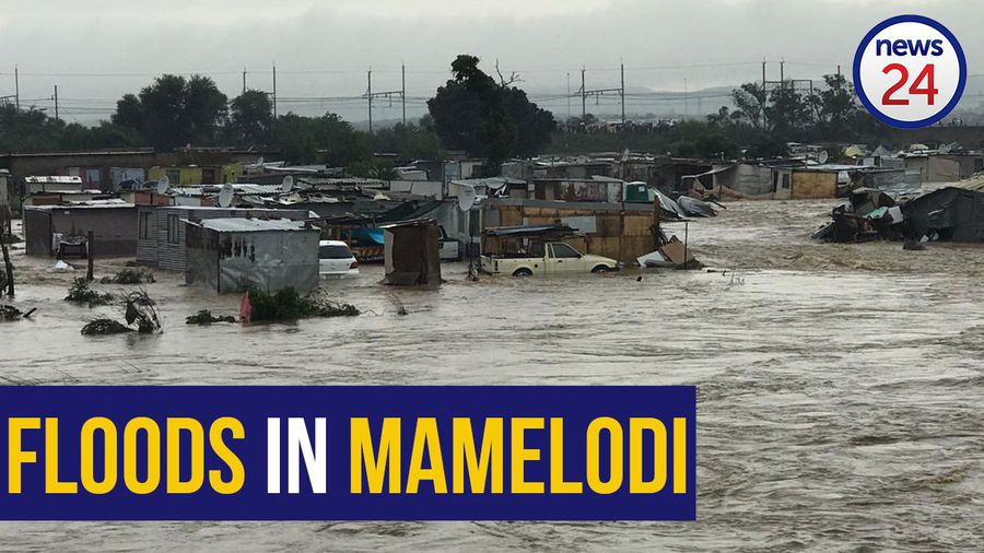 WATCH | Mamelodi residents left stranded as heavy rainfall continues