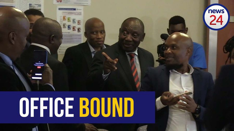 WATCH | No leave for Eskom staff, says Ramaphosa as he promises it won't be a dark Christmas