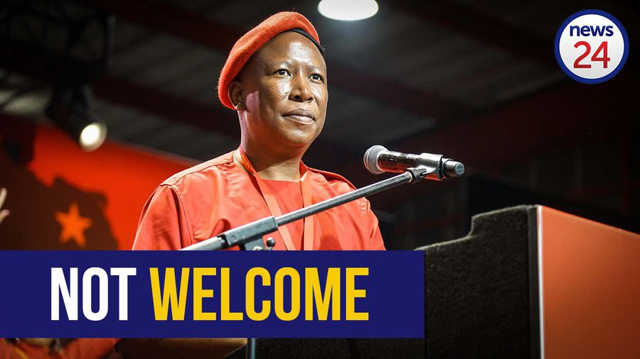 WATCH | 'We don't want to see any eNCA anywhere at our events' - Malema on eNCA's withdrawal