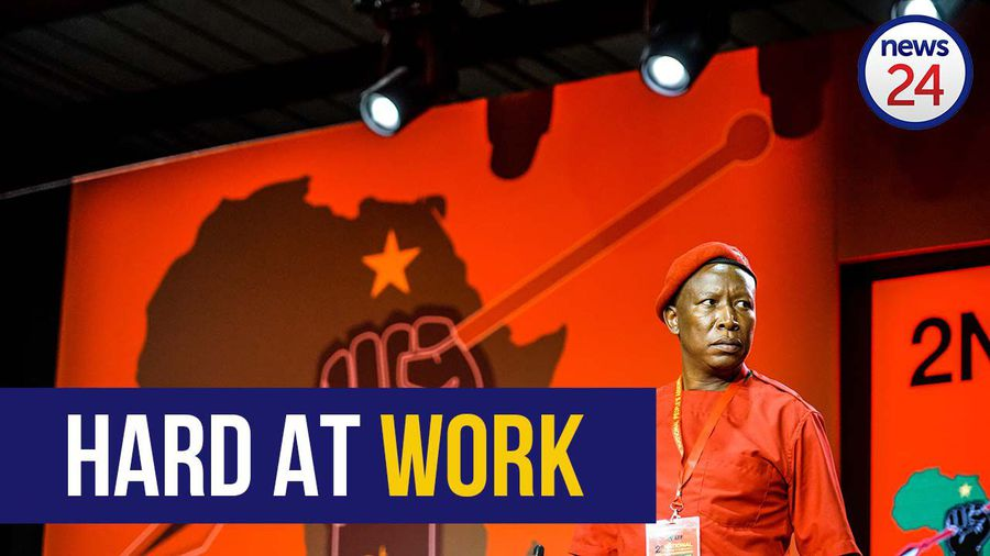 WATCH | 'I'm not a dictator, I'm a hard worker' - Julius Malema