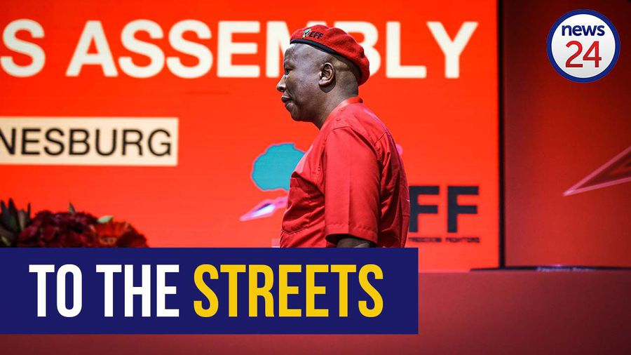 WATCH   Malema says EFF will take to streets to protect SOEs