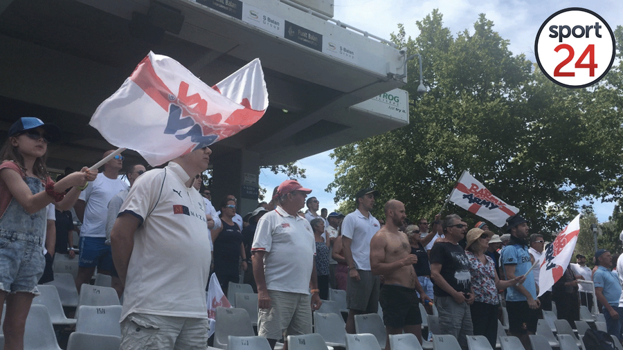 WATCH | The Barmy Army belt out to Jerusalem at Newlands