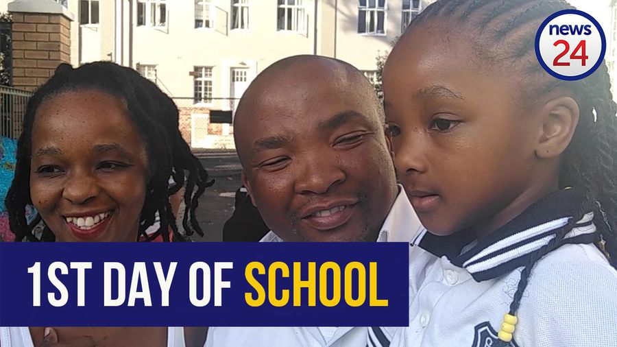 WATCH | Cape Town first grader looking forward to making friends on her first day of school