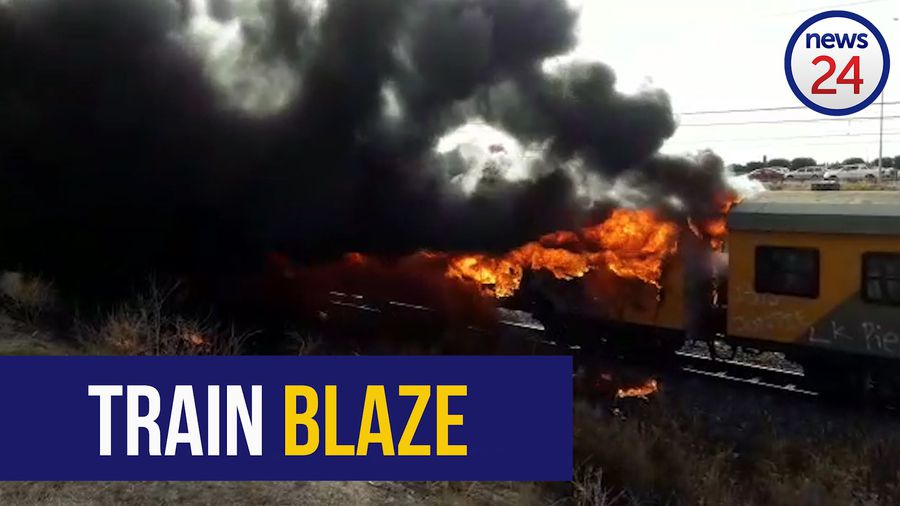 WATCH | Another passenger train burns in Cape Town