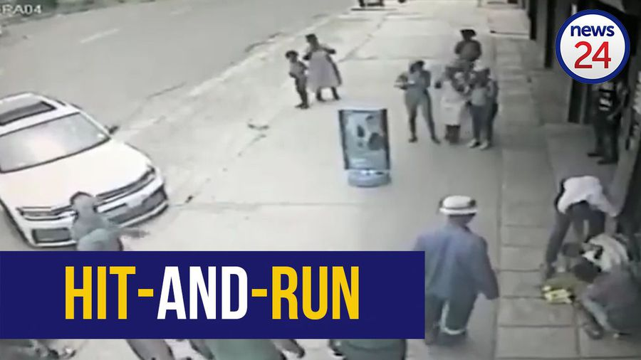 WATCH | Gogo, baby mowed down in hit-and-run, 2 arrested
