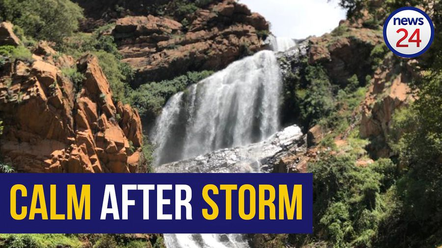 WATCH   Witpoortjie Falls back to 'normal' after heavy rains