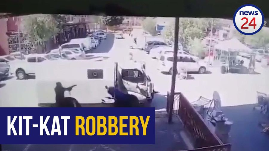 WATCH | Two wounded in shootout during cash-in-transit robbery