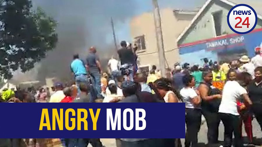WATCH | Tazne murder: Houses torched by angry protesters after accused's court appearance