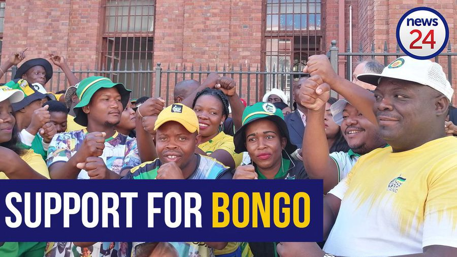 WATCH   ANC members vow to go to 'any court' in support of Bongani Bongo