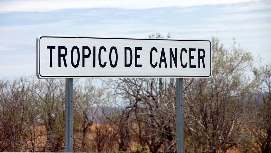 Travel the Tropic of Cancer